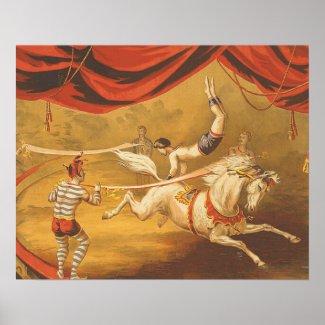 TEE Circus Act Print