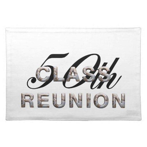 TEE Class Reunion 50th Place Mats