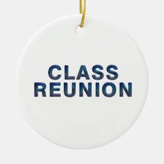 TEE Class Reunion Ceramic Ornament
