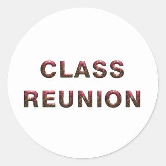 TEE Class Reunion Stickers