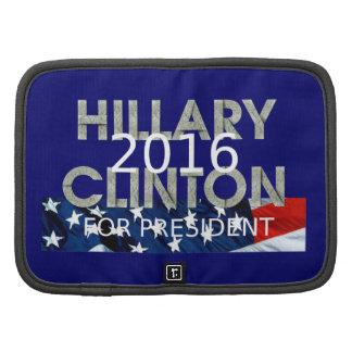 TEE Clinton 2016 Folio Planner