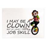 TEE Clown Job Business Card Templates