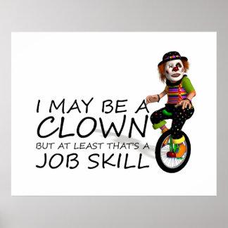TEE Clown Job Posters