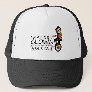 TEE Clown Job Trucker Hat