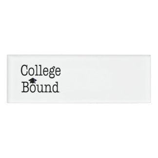 TEE College Bound Name Tag