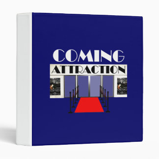 TEE Coming Attraction 3 Ring Binder