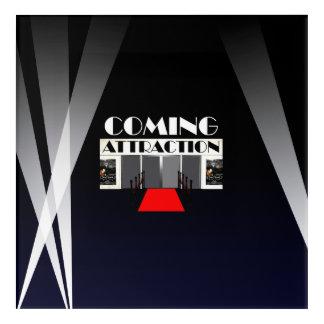 TEE Coming Attraction Acrylic Wall Art