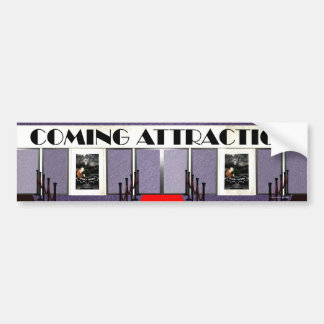 TEE Coming Attraction Bumper Sticker