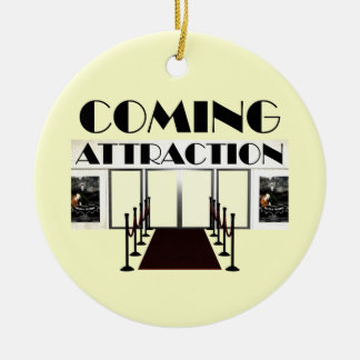 TEE Coming Attraction Ceramic Ornament