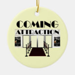 TEE Coming Attraction Christmas Tree Ornament