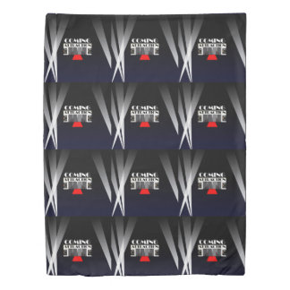 TEE Coming Attraction Duvet Cover