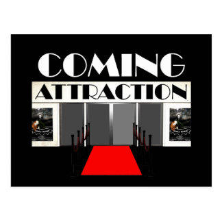 TEE Coming Attraction Postcard