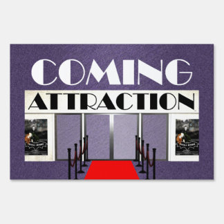 TEE Coming Attraction Sign