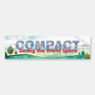 TEE Compact Bumper Sticker