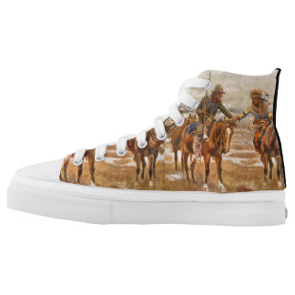 TEE Compadres High-Top Sneakers