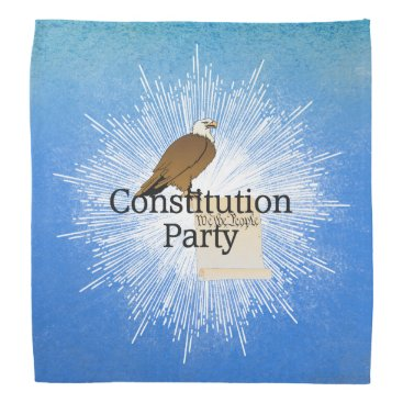 USA Themed TEE Constitution Party Bandana