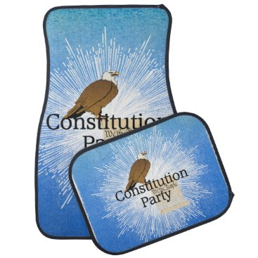 USA Themed TEE Constitution Party Car Floor Mat