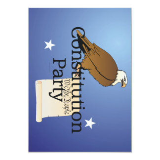TEE Constitution Party Card