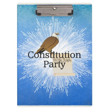 USA Themed TEE Constitution Party Clipboard