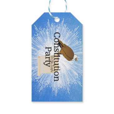 USA Themed TEE Constitution Party Gift Tags