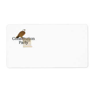 TEE Constitution Party Label