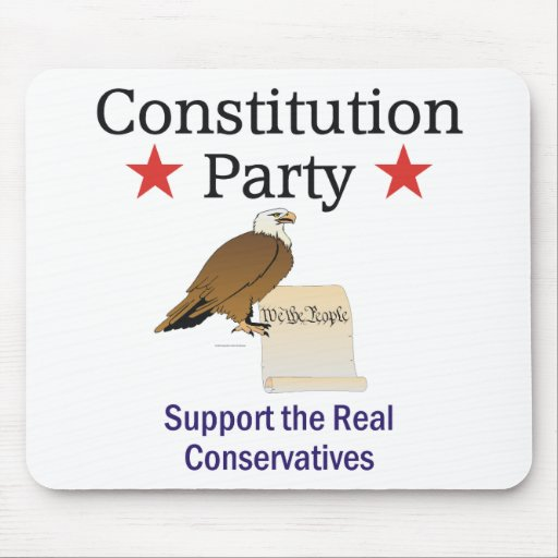 TEE Constitution Party Mouse Pads