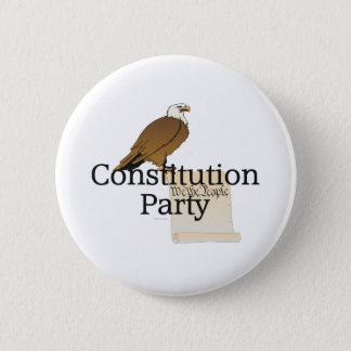 TEE Constitution Party Pinback Button