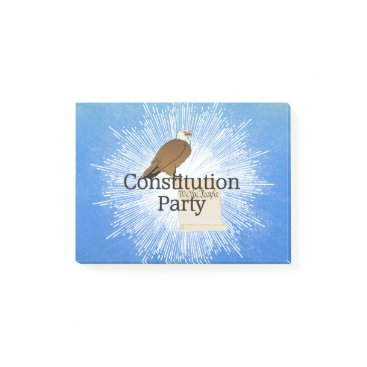 USA Themed TEE Constitution Party Post-it Notes