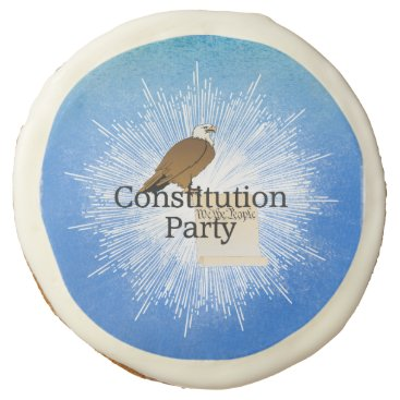 USA Themed TEE Constitution Party Sugar Cookie