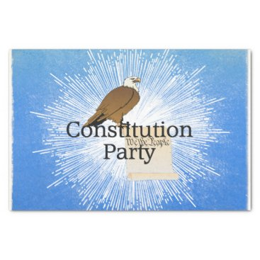 USA Themed TEE Constitution Party Tissue Paper