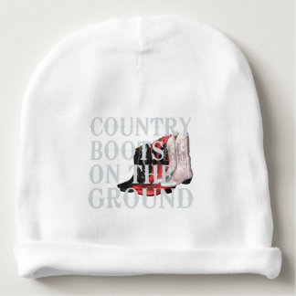 TEE Country Boots Baby Beanie