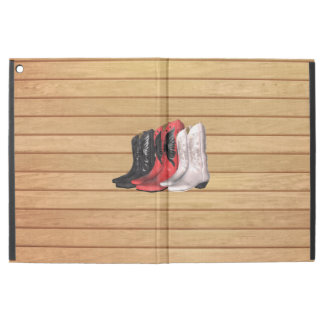 TEE Country Boots iPad Pro Case