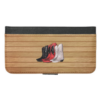 TEE Country Boots iPhone 6/6s Plus Wallet Case