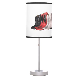 TEE Country Boots Lamp