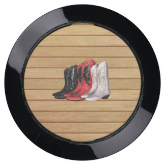TEE Country Boots USB Charging Station