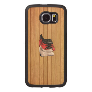 TEE Country Boots Wood Phone Case