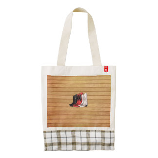 TEE Country Boots Zazzle HEART Tote Bag