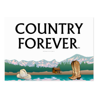 TEE Country Forever Large Business Cards (Pack Of 100)