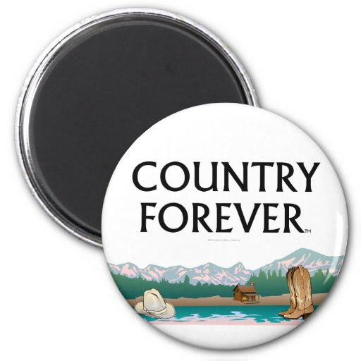 TEE Country Forever Fridge Magnets