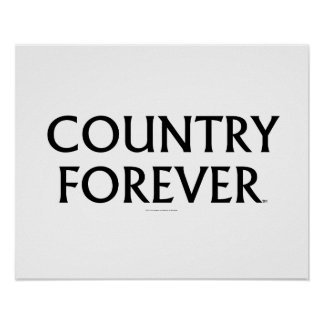 TEE Country Forever Posters