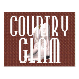 TEE Country Glam Postcard