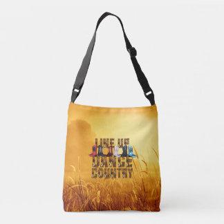 TEE Country Line Dance Crossbody Bag