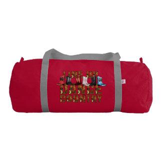 TEE Country Line Dance Gym Duffle Bag