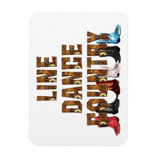 TEE Country Line Dance Magnet