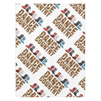 TEE Country Line Dance Tablecloth