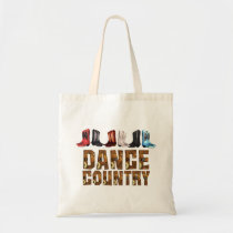 TEE Country Line Dance Tote Bag
