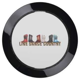 TEE Country Line Dance USB Charging Station