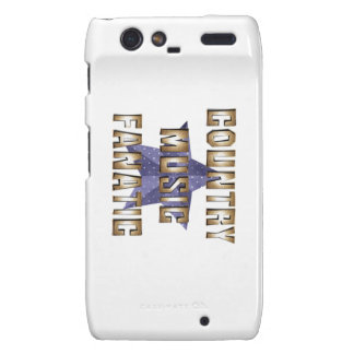 TEE Country Music Fanatic Motorola Droid RAZR Covers