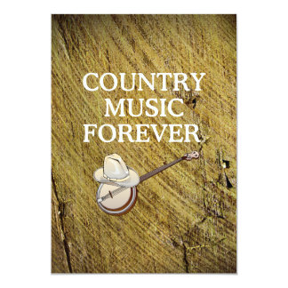 TEE Country Music Forever Card
