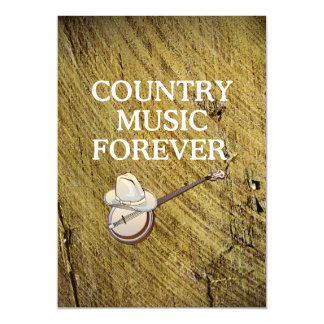 TEE Country Music Forever Magnetic Card